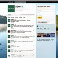 Social Media + L. L. Bean