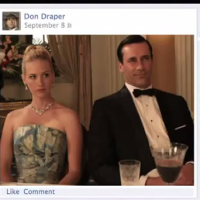 Don Draper Sells Facebook Timeline
