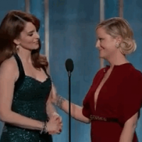 BFFs 4eva: Tina and Amy at the Golden Globes