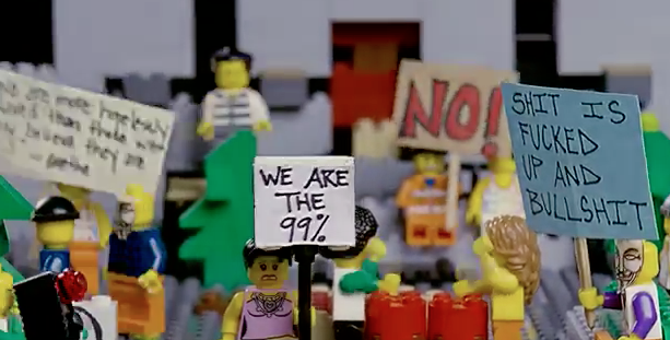 #OccupyLegos