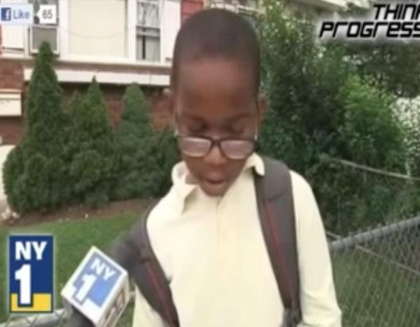 Fifth Grader's speech on same sex marriage
