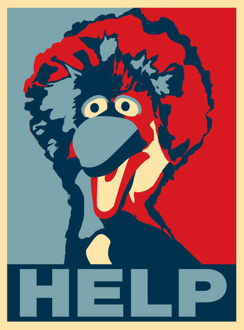 #BIRD IS THE WORD: BRING ON THE #MILLIONMUPPETMARCH