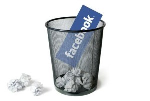 trash facebook account