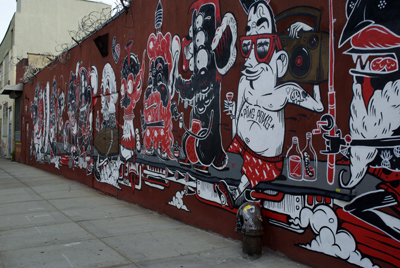 The Yok & Sheryo Troutman Street between Wyckoff and Irving Avenue