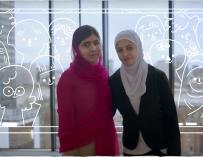 Malala's Girls and #HeforShe: #IWD2016
