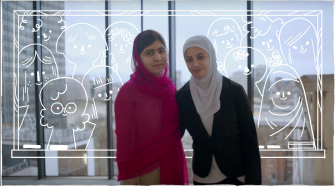 Malala's Girls and #HeforShe: #IWD2016