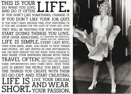 The Marilyn Monroe Manifesto