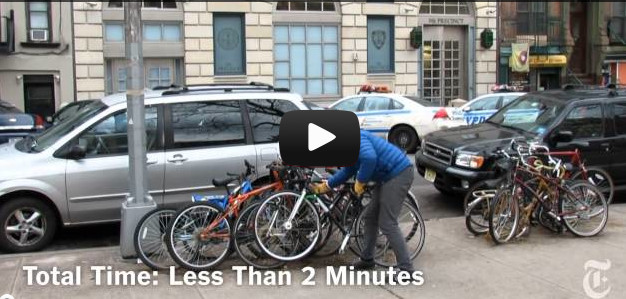 Social Experiment: Bike Theft in New York City