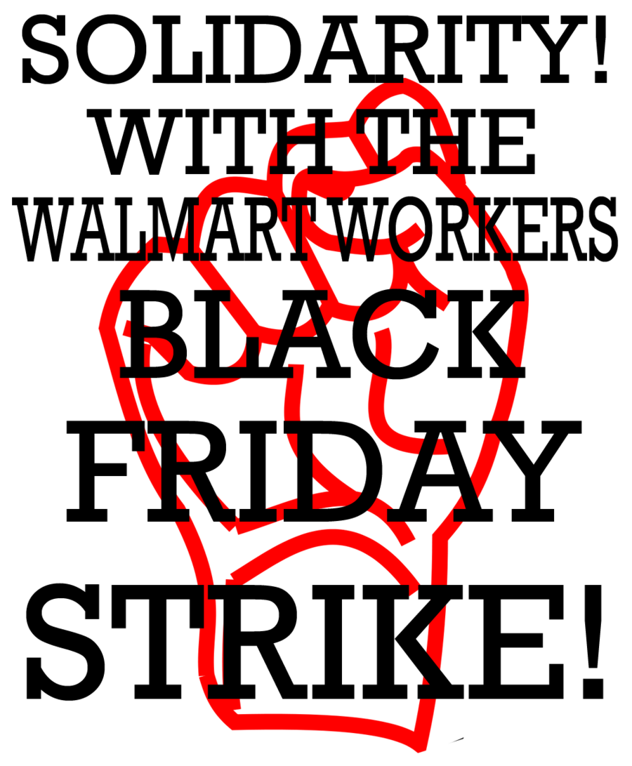 Fast Food/Walmart Strikers Unite!!