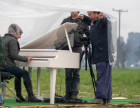 Ai WeiWei, Instagram and a Piano for a Refugee